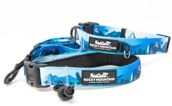 kootenay dog leash and collar