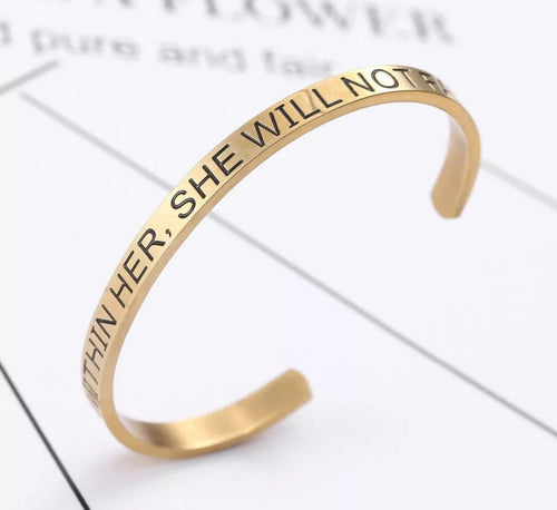 God within bracelet - CurvEssentials Boutique