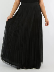So Pleated Maxi Skirt