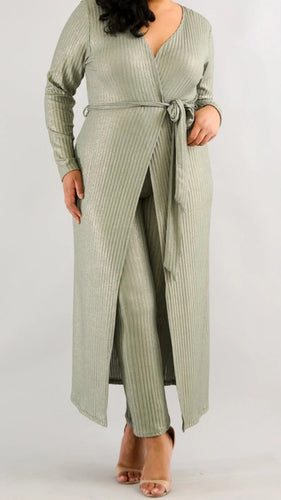 Sheena Shine Pant Set