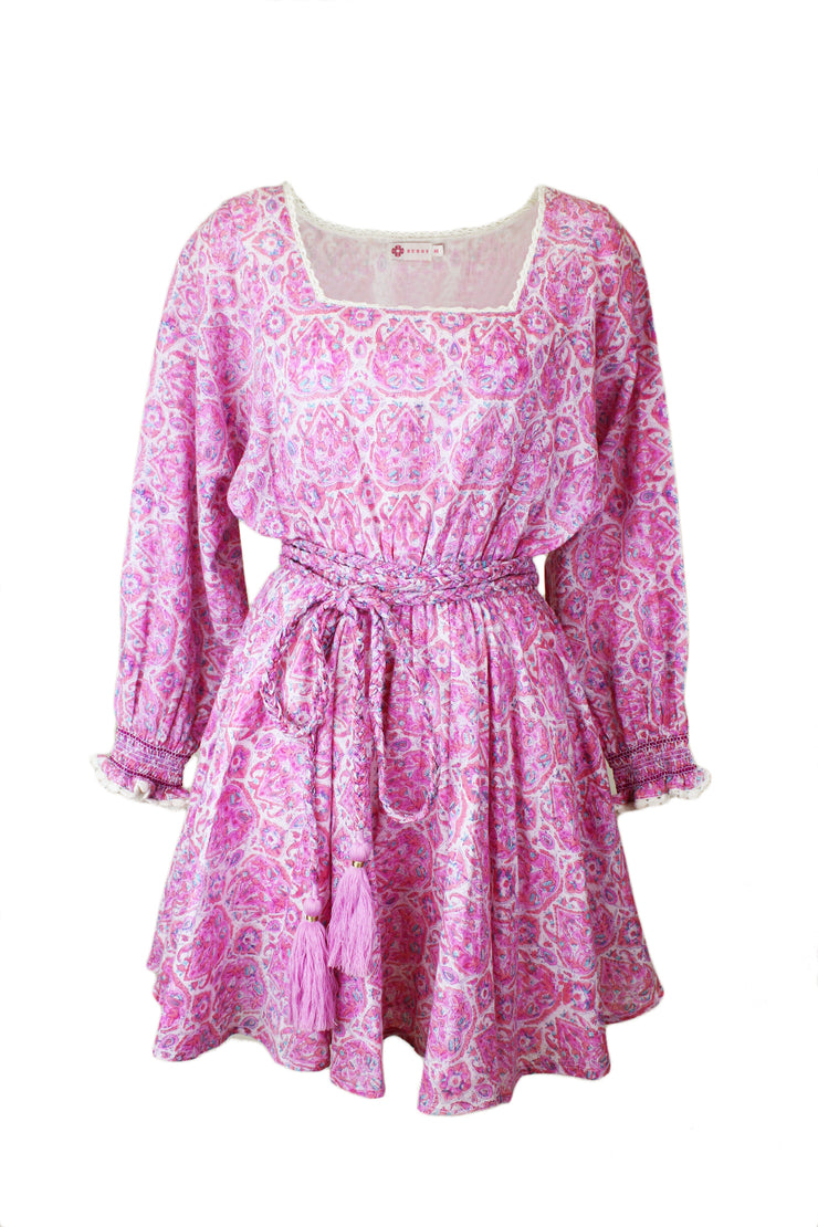 Sisi Dress in Nettie Lavender Pinks