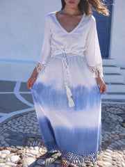 Santorini Tie Dye Dress