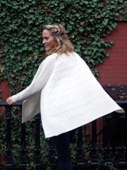 Cashmere Sweater Poncho