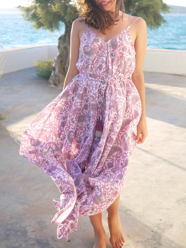 Esme Dress in Lilac