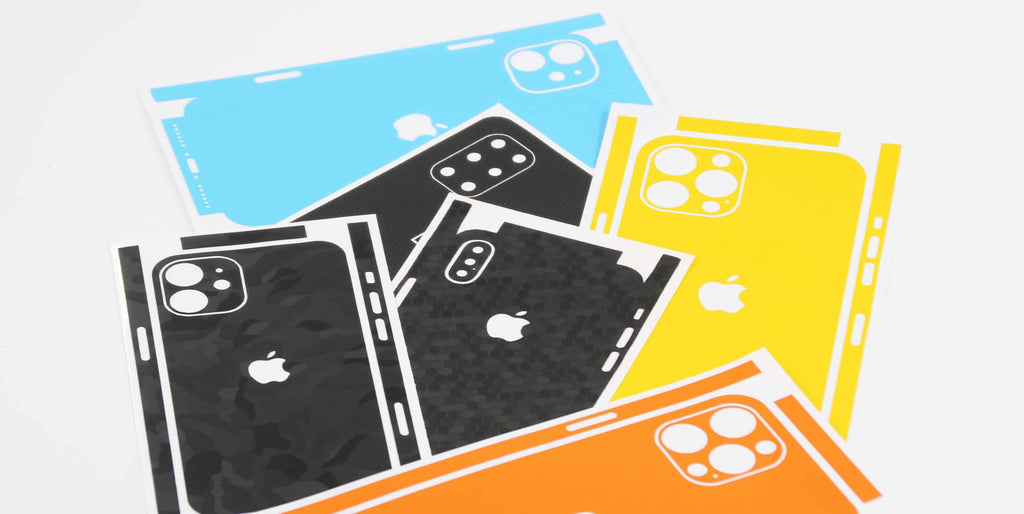 Assortment of iPhone Skins (iPhone 12 Skins, iPhone 12 Pro Wraps, iPhone 11 Skins)