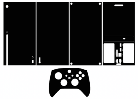 Xbox Series X Whats Included Skin Template