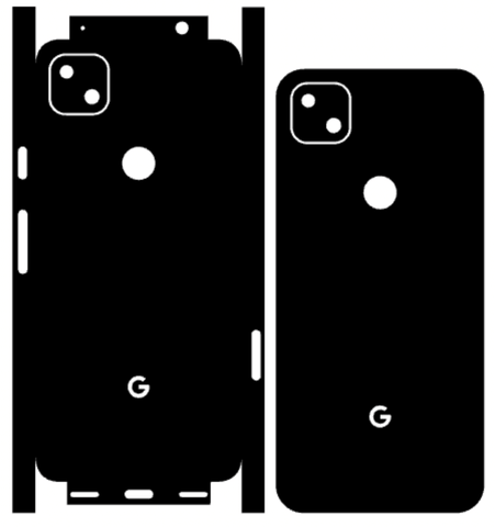 Google Pixel 4a Whats Included Skin Template