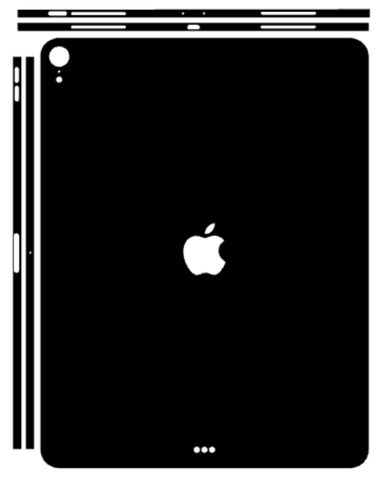 iPad Pro 12.9 Inch 2018 Whats Included Skin Template