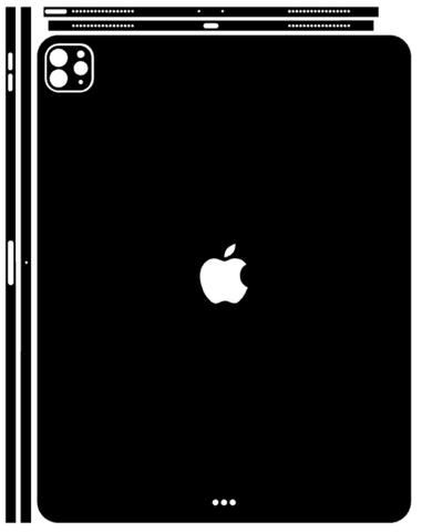 iPad Pro 12.9 Inch 2020 Whats Included Skin Template