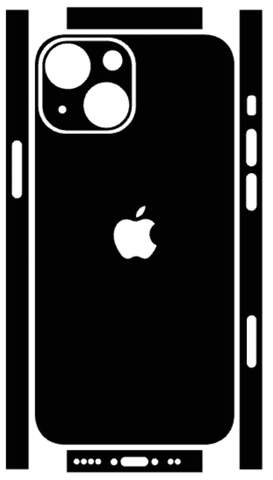 iPhone 13 Mini Whats Included Skin Template