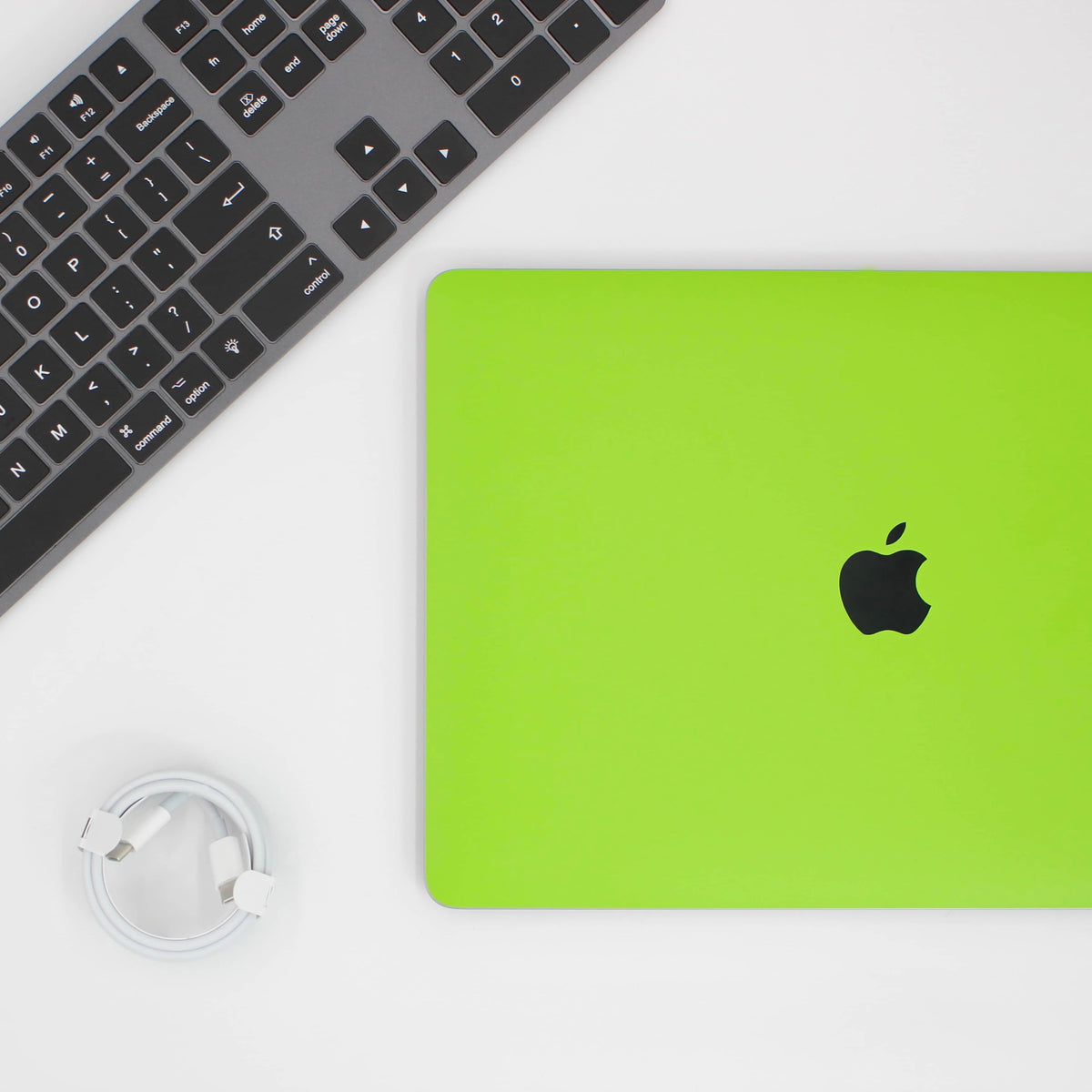 MacBook Lime Green Skin