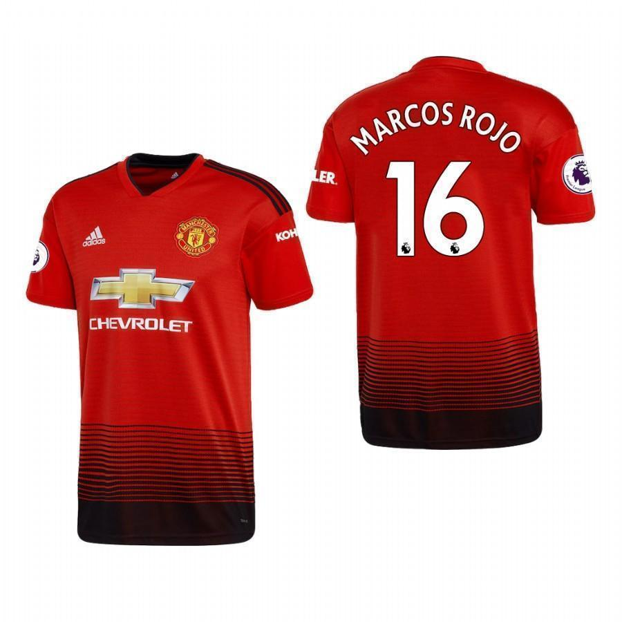 10f1a53531dd23 Marcos Rojo Manchester United 2018 19 Home Jersey