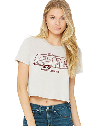 Ladies Trailer Crop Top