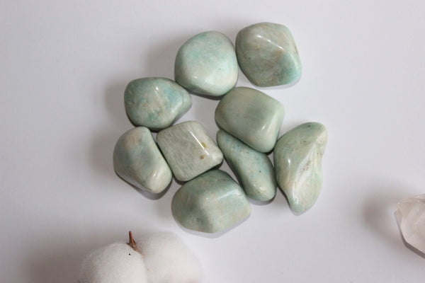 Light Amazonite - Tumbled