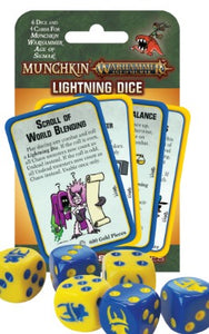 Munchkin Warhammer Age of Sigmar Lightning Dice - Kickstarted Games