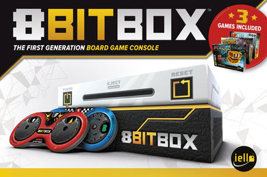 8bit Box Board Game Console Kit | IELLO Games - Kickstarted Games