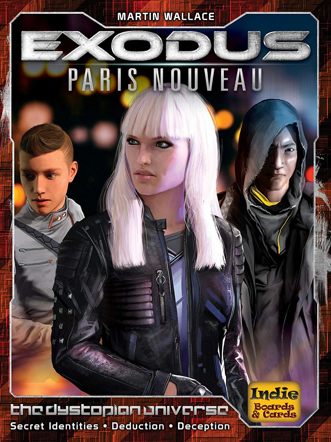 Exodus Paris Nouveau  by Martin Wallace | Indie Boards & Cards - Kickstarted Games