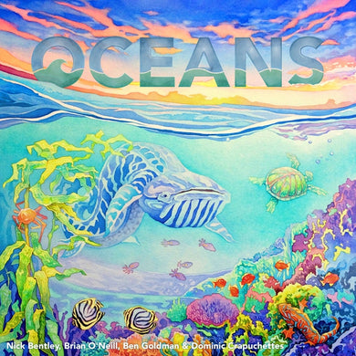 Oceans Board Game - Kickstarted Games