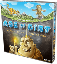 Load image into Gallery viewer, Age of Dirt: A Game of Uncivilization Board Game | Wizkidz - Kickstarted Games