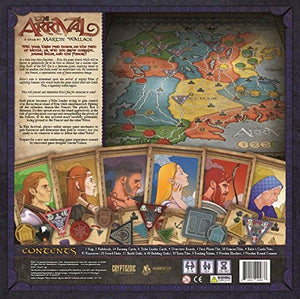 The Arrival | Martin Wallace | Cryptozoic Games - Kickstarted Games