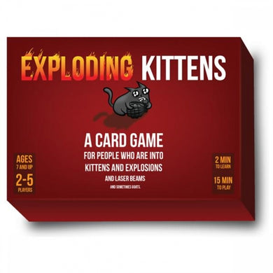 First Edition Meow Sound Box Kickstarter Edition | Exploding Kittens - Kickstarted Games