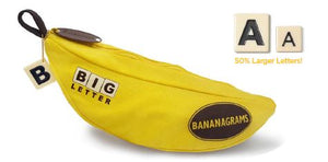 Big Letter Bananagrams *Designed For LOW VISION* - Kickstarted Games