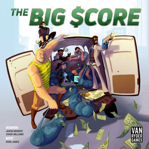 The Big Score by A.J. Porfirio | Van Ryder Games (PREOWNED) - Kickstarted Games
