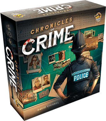 Chronicles of Crime - VR Augmented Reality Board Game by Lucky Duck Games - Kickstarted Games