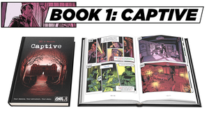 Captive - Pick Your Path Adventure Graphic Novel | Van Rider Games - Kickstarted Games