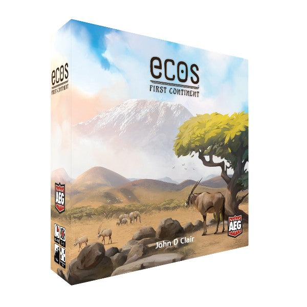 Ecos The First Continent - Kickstarted Games