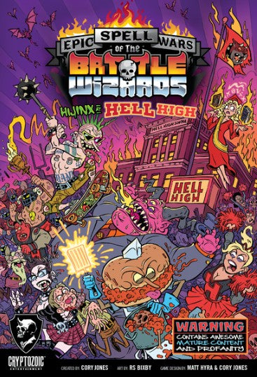Epic Spell Wars of the Battle Wizards Hijinx at Hell High (PREORDER) - Kickstarted Games
