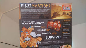 First Martians: Adventures on the Red Planet - Kickstarted Games