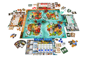 Heroes of Land, Air & Sea Board Game - Painted Edition - Kickstarted Games
