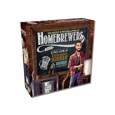 Homebrewers Board Game - Kickstarted Games