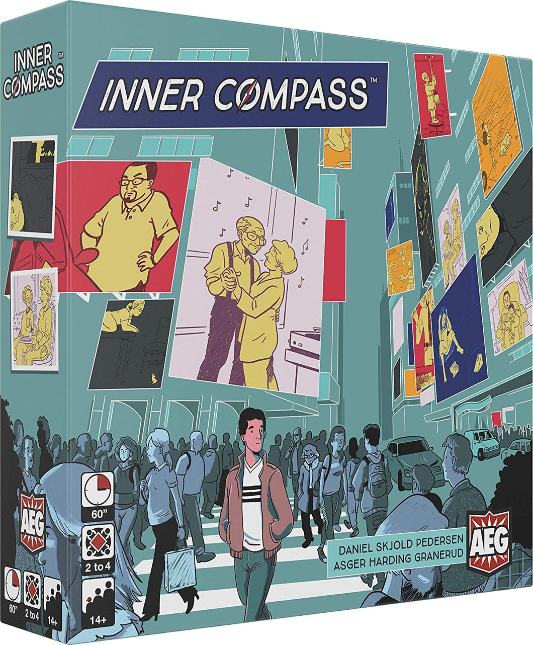 Inner Compass Board Game - Kickstarted Games