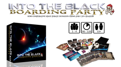 Into The Black: Boarding Party | I Will Never Grow Up Games - Kickstarted Games