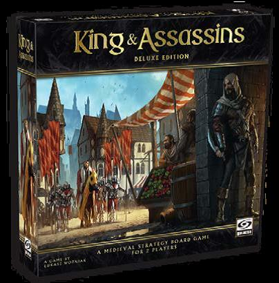 Kings & Assassins Deluxe Edition - Kickstarted Games