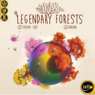 Legendary Forest Tile Game | IELLO Games - Kickstarted Games