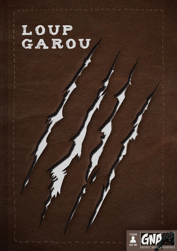 Loup Garou - Choose Your Own Adventure Graphic Novel - Kickstarted Games