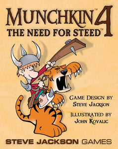 Munchkin 4 Need 4 Steed - Kickstarted Games