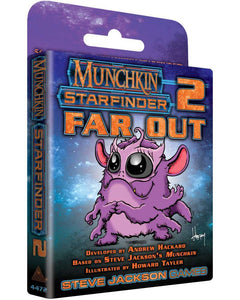 Munchkin Starfinder 2 Far Out - Kickstarted Games