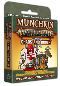 Munchkin Warhammer Age of Sigmar Chaos and Order Expansion (PREORDER) - Kickstarted Games