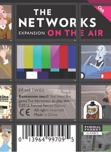 The Networks Game | On The Air Expansion Pack - Kickstarted Games