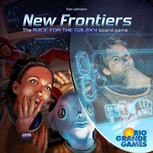 New Frontiers The Race for the Galaxy Board Game | Rio Grande Games - Kickstarted Games