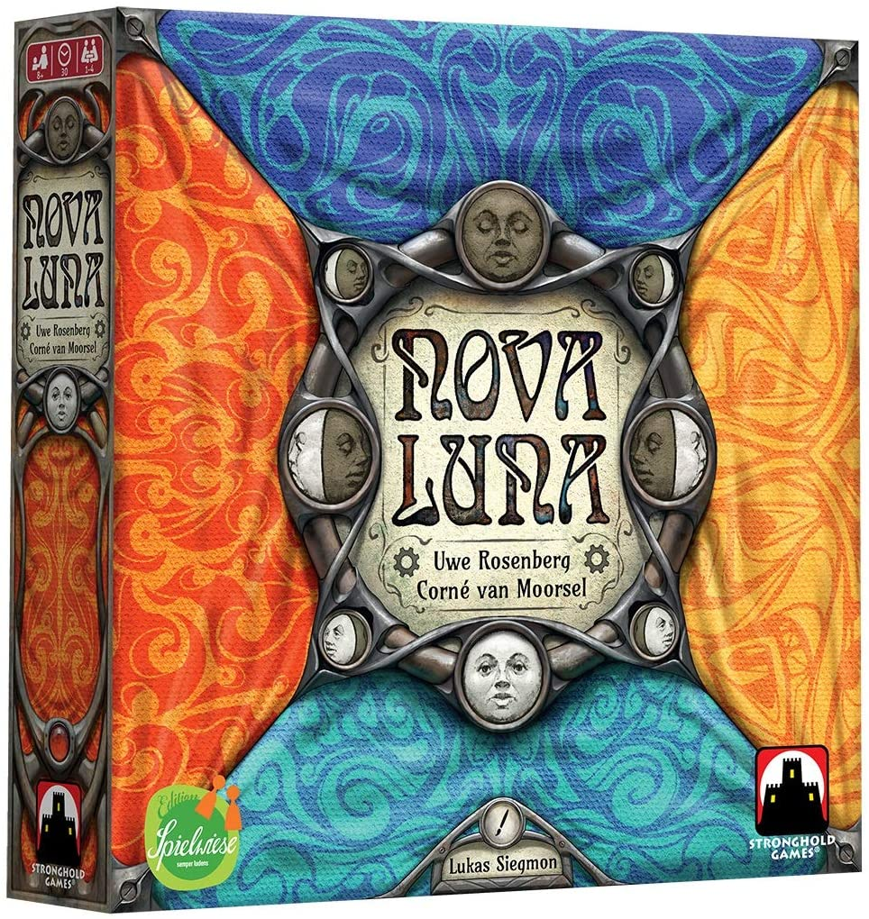 Nova Luna Tile Placement Game - BLACK FRIDAY BLOWOUT - Kickstarted Games