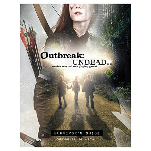 Outbreak Undead 2nd Edition: Survivor's Guide Zombie RPG Rulebook
