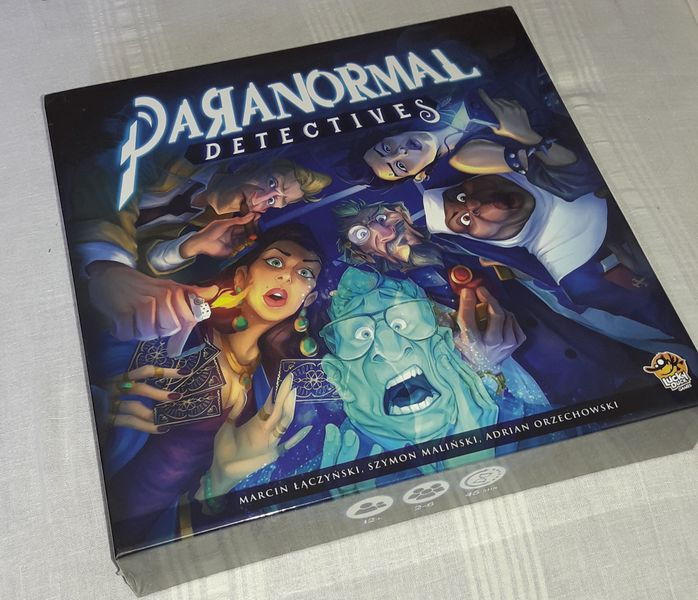 Paranormal Detectives Board Game - Kickstarted Games