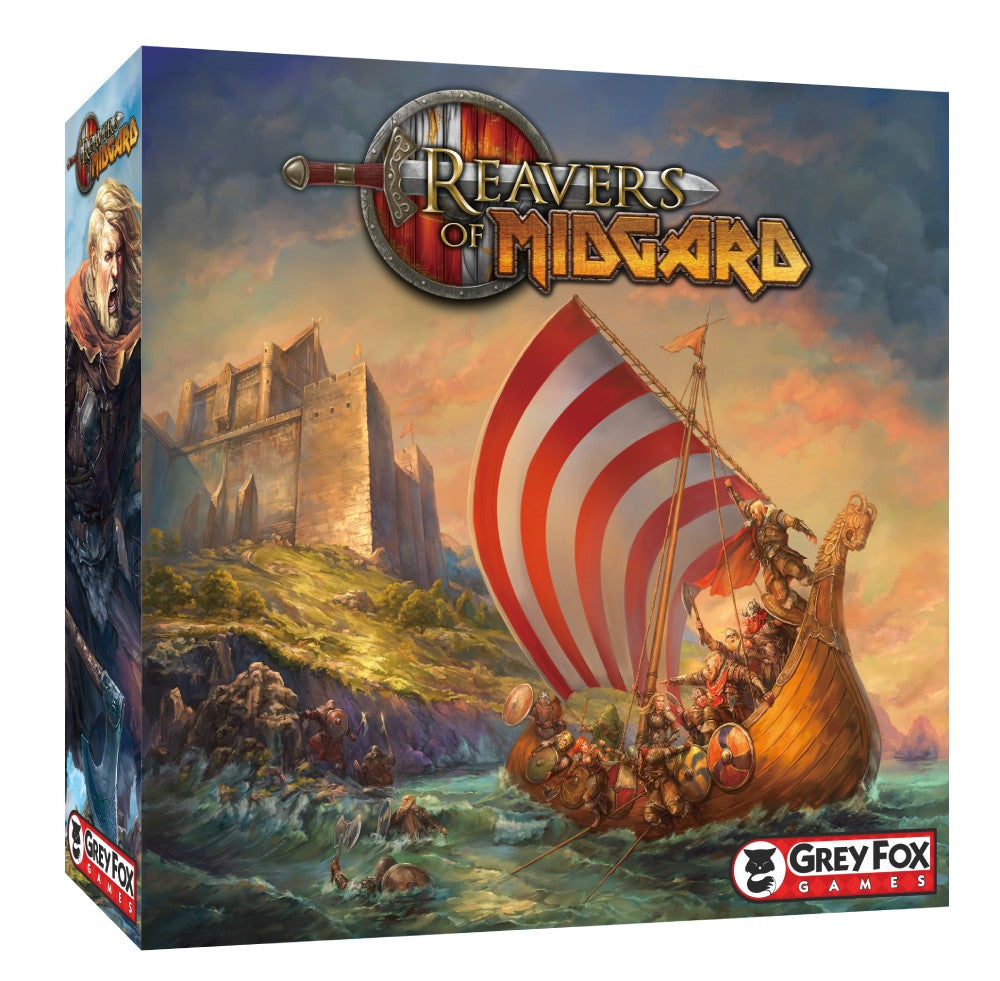 Reavers of Midgard Board Game - Kickstarted Games