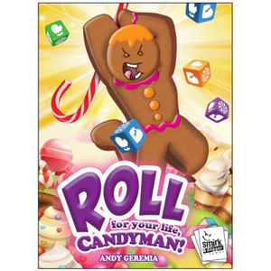 Roll For Your Life, Candyman! Dice Game - Kickstarted Games