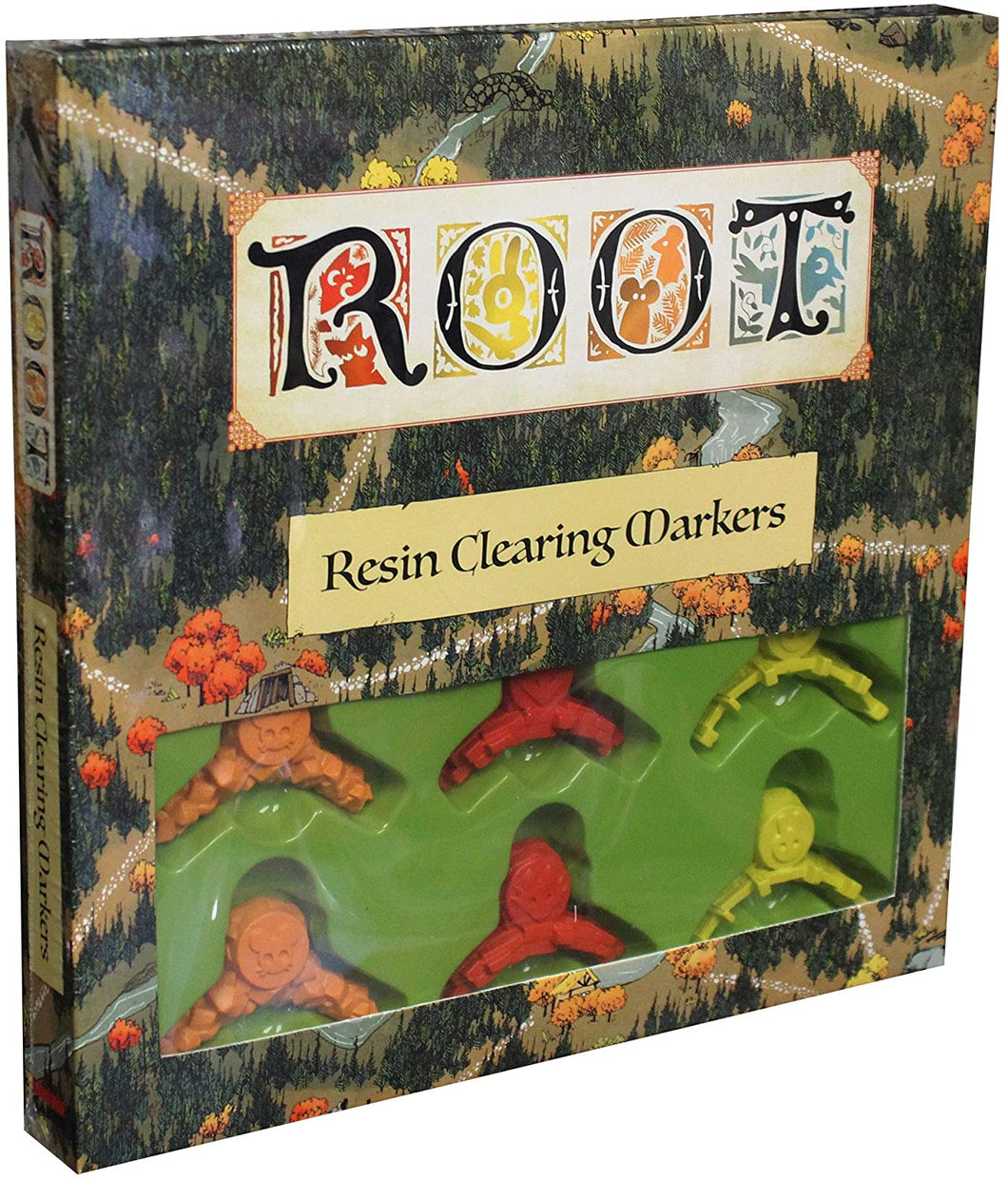 Root: Resin Clearing Markers - Kickstarted Games
